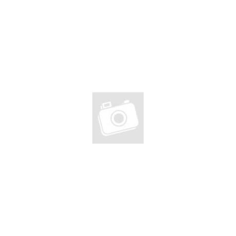 4 Kerekes Merev Falú Közepes Bőrönd Sötétszürke szín 66x45x25 Cm
